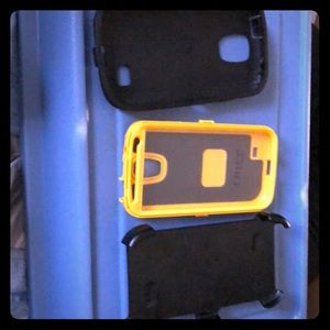 Otter box case with holster for iphone6- 6930c